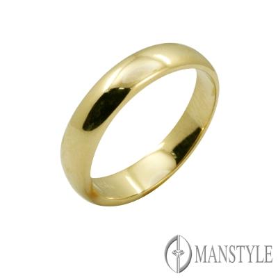 MANSTYLE 18K金戒