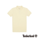 Timberland 男款古董白Coolmax透氣短袖Polo衫