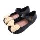 蝴蝶結輕便娃娃鞋 黑 sh9940