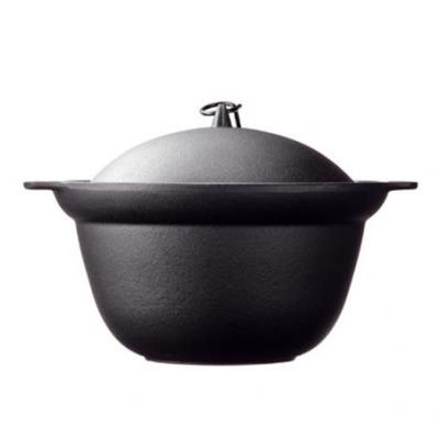 及源鑄造-鑄鐵炊飯調理鍋-13cm-1-2人份