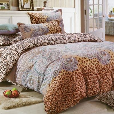 魅力織夢 加大精梳棉被套床包1+1超值組 台灣製造