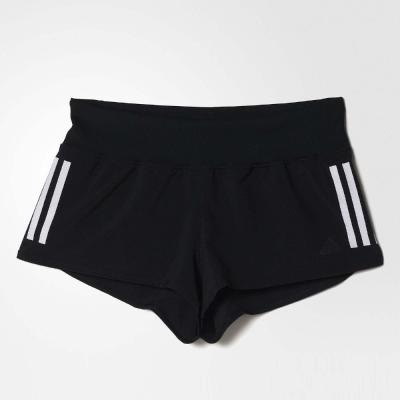 adidas 3-stripes Gym 短褲 女 黑白