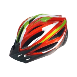 KREX CS-1800 拉風款自行車專用安全帽 紅色