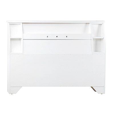 AS-路德6尺白色床頭片-185x12x101cm