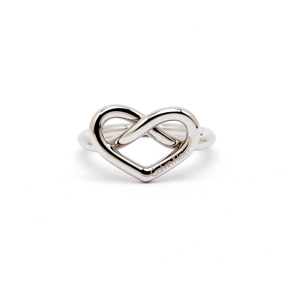 CK Calvin Klein 甜美愛心款戒指