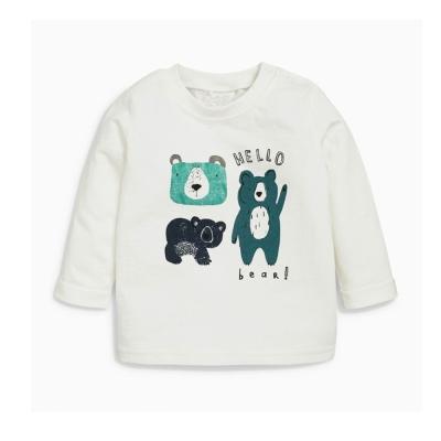 歐美風 男童 純棉長袖T恤-哈囉熊