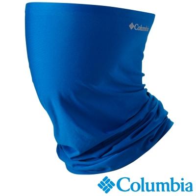 【Columbia哥倫比亞】男女-涼感快排防曬50頭巾-藍  UCU95040BL