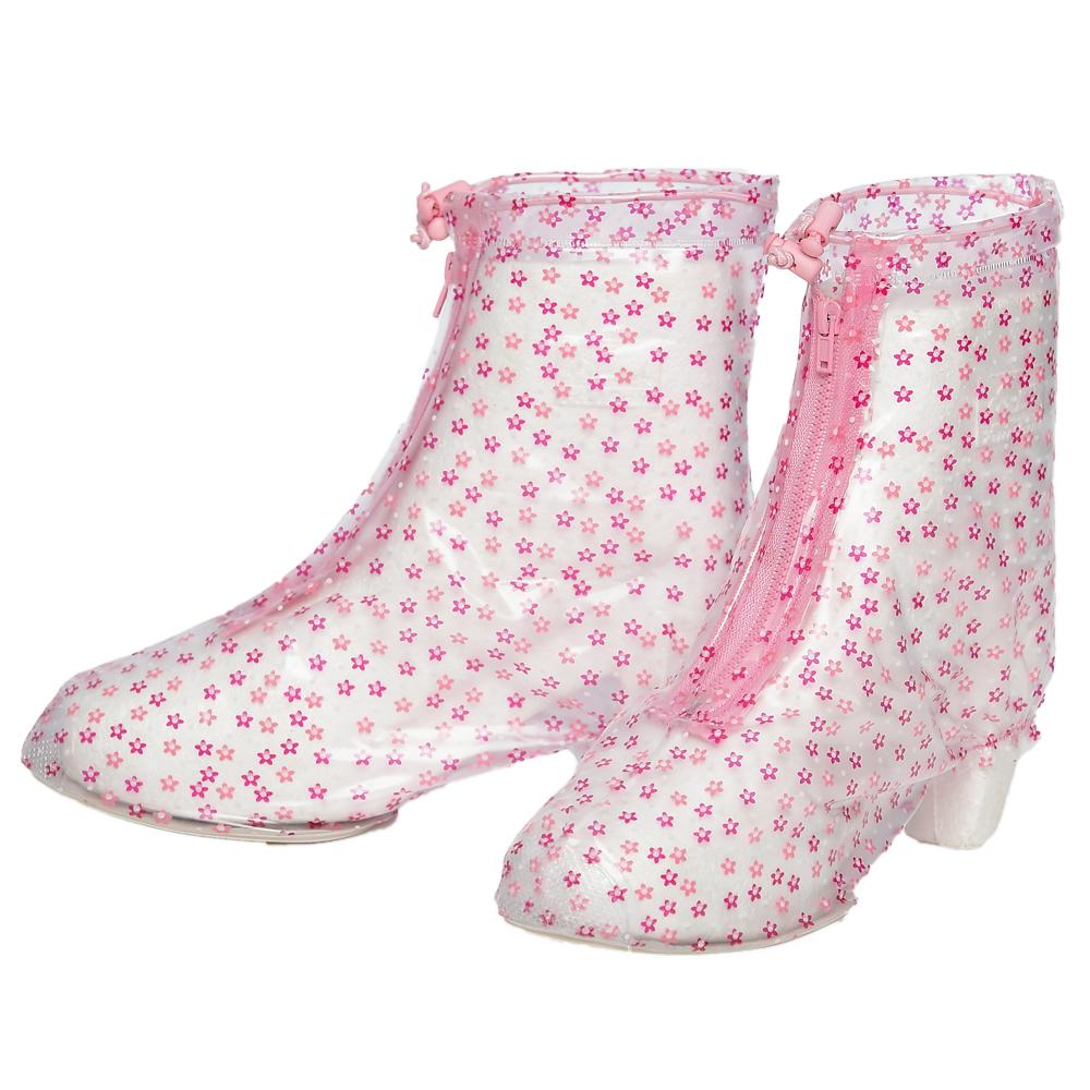 FairRain飛銳 花漾時尚高跟鞋專用防雨鞋套