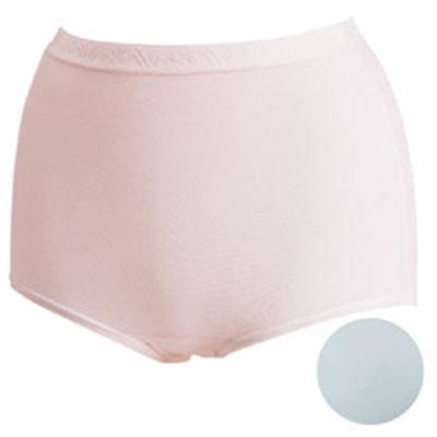 #【華歌爾】新伴蒂內褲M-3L高腰三角款(淺水藍)