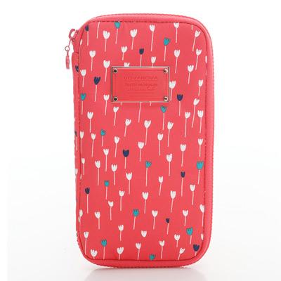 VOVAROVA空氣包-環遊世界護照夾-朵朵花爾滋-法國設計系列