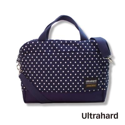 Ultrahard 美好年代 13吋旅行電腦包-點點藍