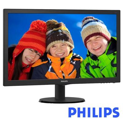 PHILIPS 243V5QSBA 24型 MVA 廣視角電腦螢幕