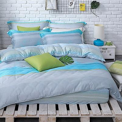 OLIVIA  晴語   標準雙人床包歐式枕套組