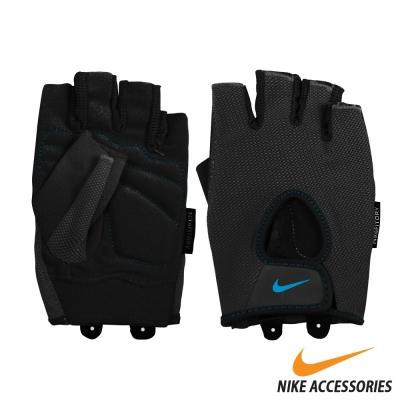 NIKE  女用基礎健力手套 (黑/藍)