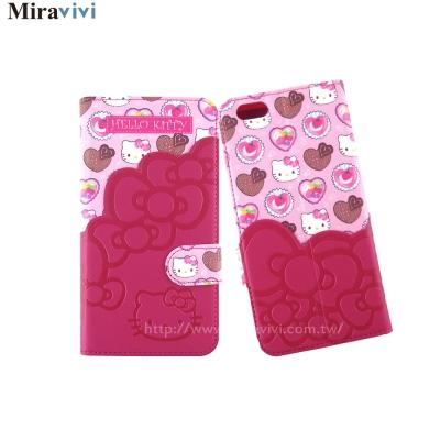 Sanrio三麗鷗iPhone 6 /6s Plus口袋拼接皮革皮套
