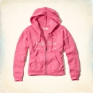 Hollister HCO 長袖 女外套 粉紅色 0066