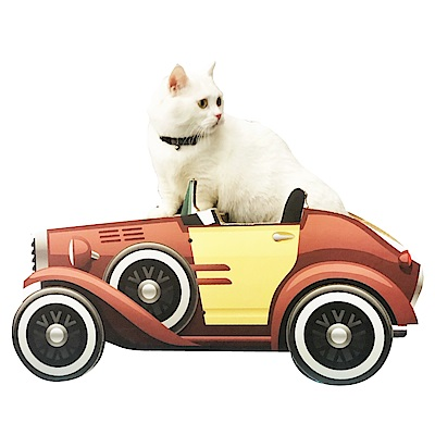 寵喵樂《追風跑車》貓抓板 SY-468