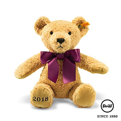 STEIFF德國金耳釦泰迪熊 - Bear 2018(經典泰迪熊)