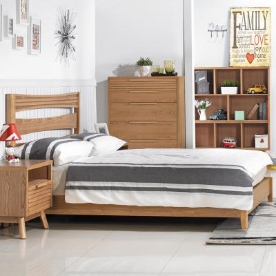 品家居 洛美3.5尺單人床台(不含床墊)