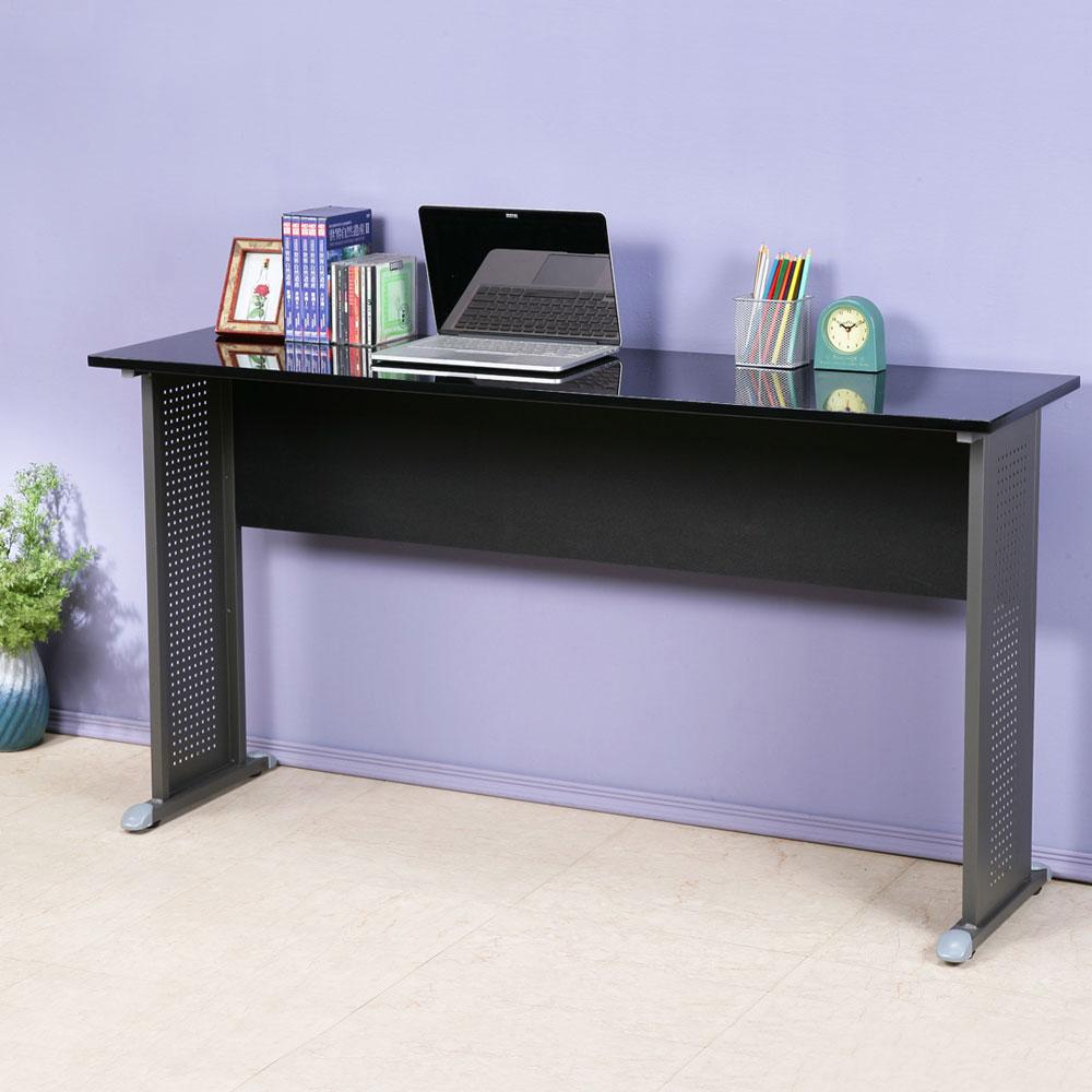 Homelike 皮特140x40工作桌-亮面烤漆