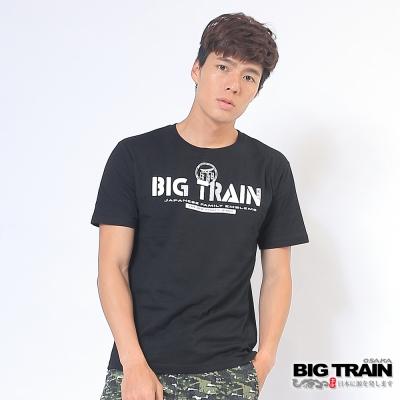 BIG TRAIN 日式嘻哈潮T男款-男-黑色