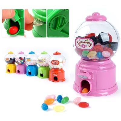 可愛迷你糖果扭蛋機玩具-復古DIY迷你扭糖果機/存錢筒/聖誕禮物/生日禮 (顏色隨機)