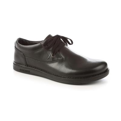 勃肯BIRKENSTOCK 406591。曼非斯休閒鞋(黑)