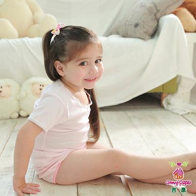 Anny-pepe-女童素面短袖款-4件組-經典必備內著