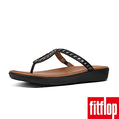 FitFlop STRATA TOE-THONG SANDALS 黑
