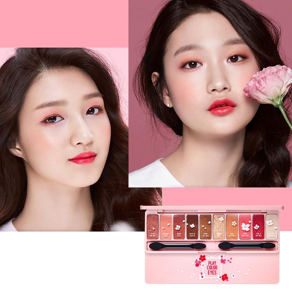 韓國ETUDE HOUSE 櫻花眼影盤 0.8g 10色 春季限定 粉嫩色系