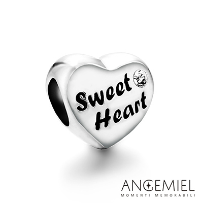 Angemiel安婕米 925純銀串珠 Sweet Heart