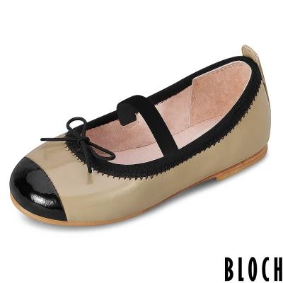 Bloch-澳洲黑邊蝴蝶結芭蕾舞鞋-咖啡色款