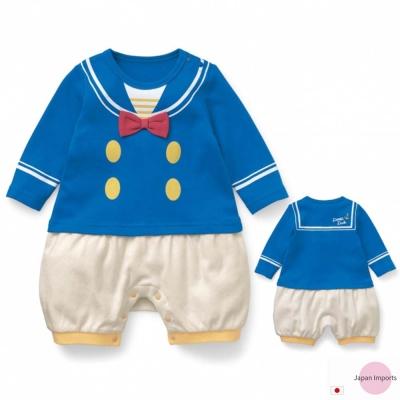 Japan Imports 迪士尼唐老鴨長袖造型連身衣
