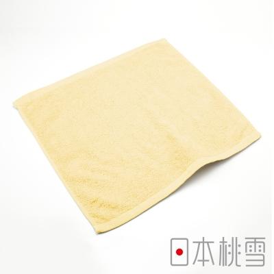 日本桃雪飯店方巾-奶油黃