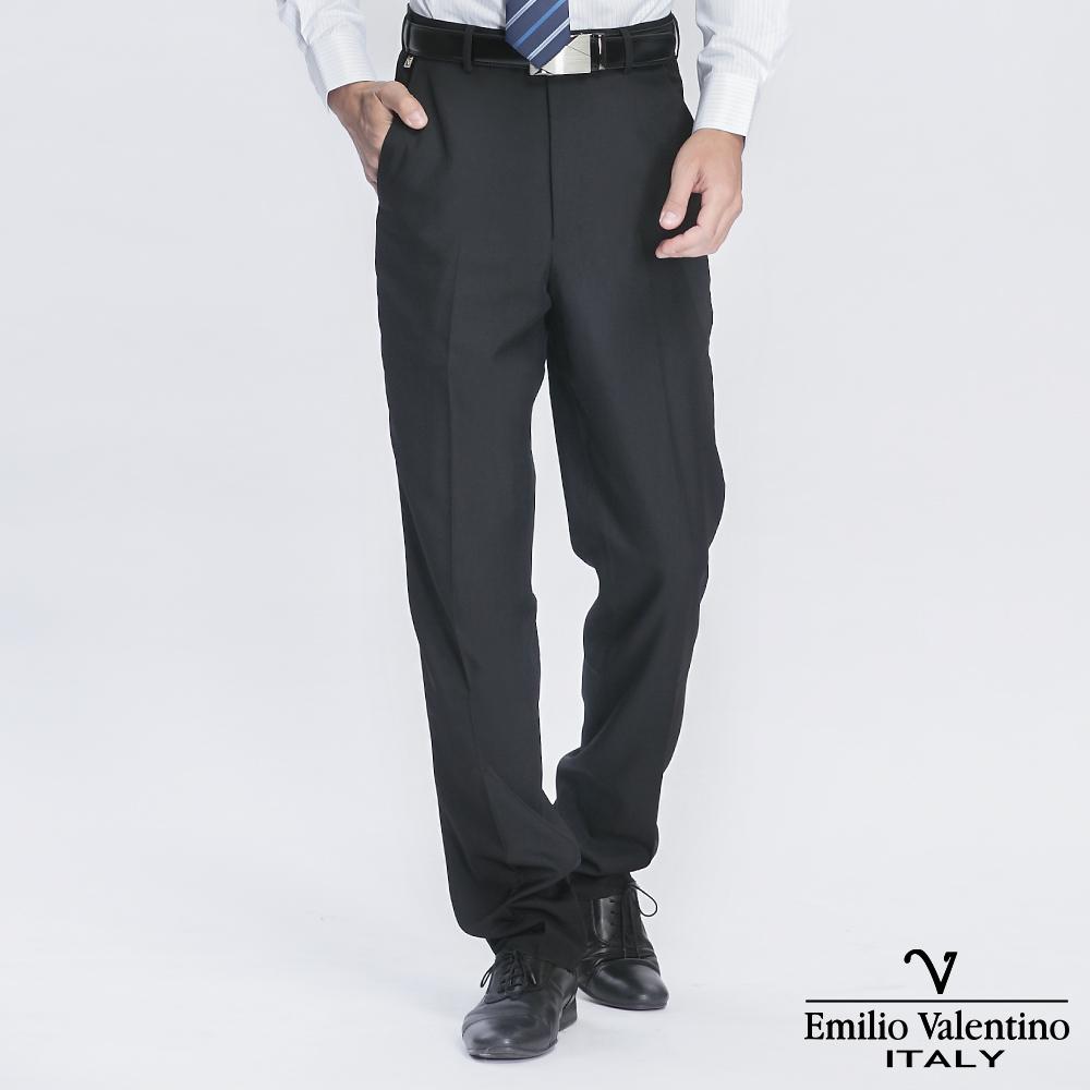 Emilio Valentino 范倫提諾精品平面西褲-深灰