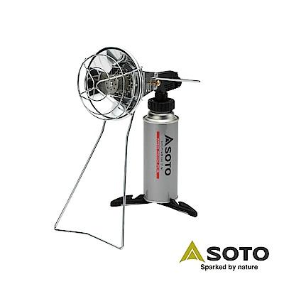 SOTO 瓦斯噴槍與戶外暖爐組 ST-801