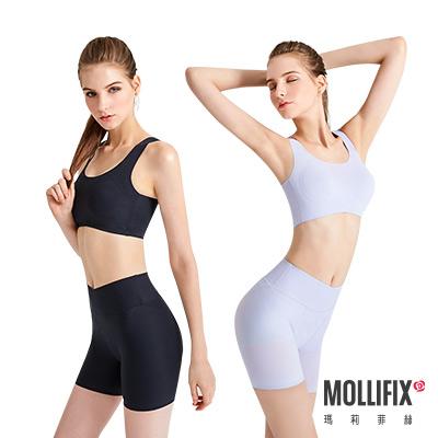 Mollifix 瑪莉菲絲 睡睡塑 循環美胸衣褲成套組