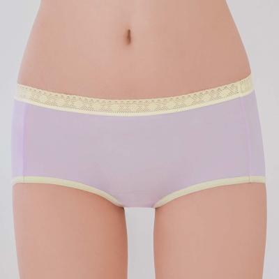 瑪登瑪朵-2015SS 低腰平口褲M-XL(時空紫)