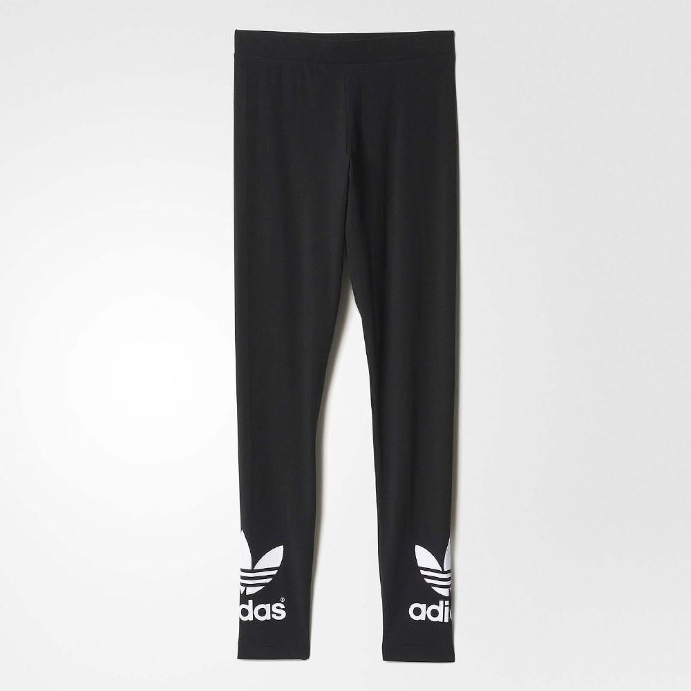 adidas Trf Leggings 緊身 長褲 女 黑白