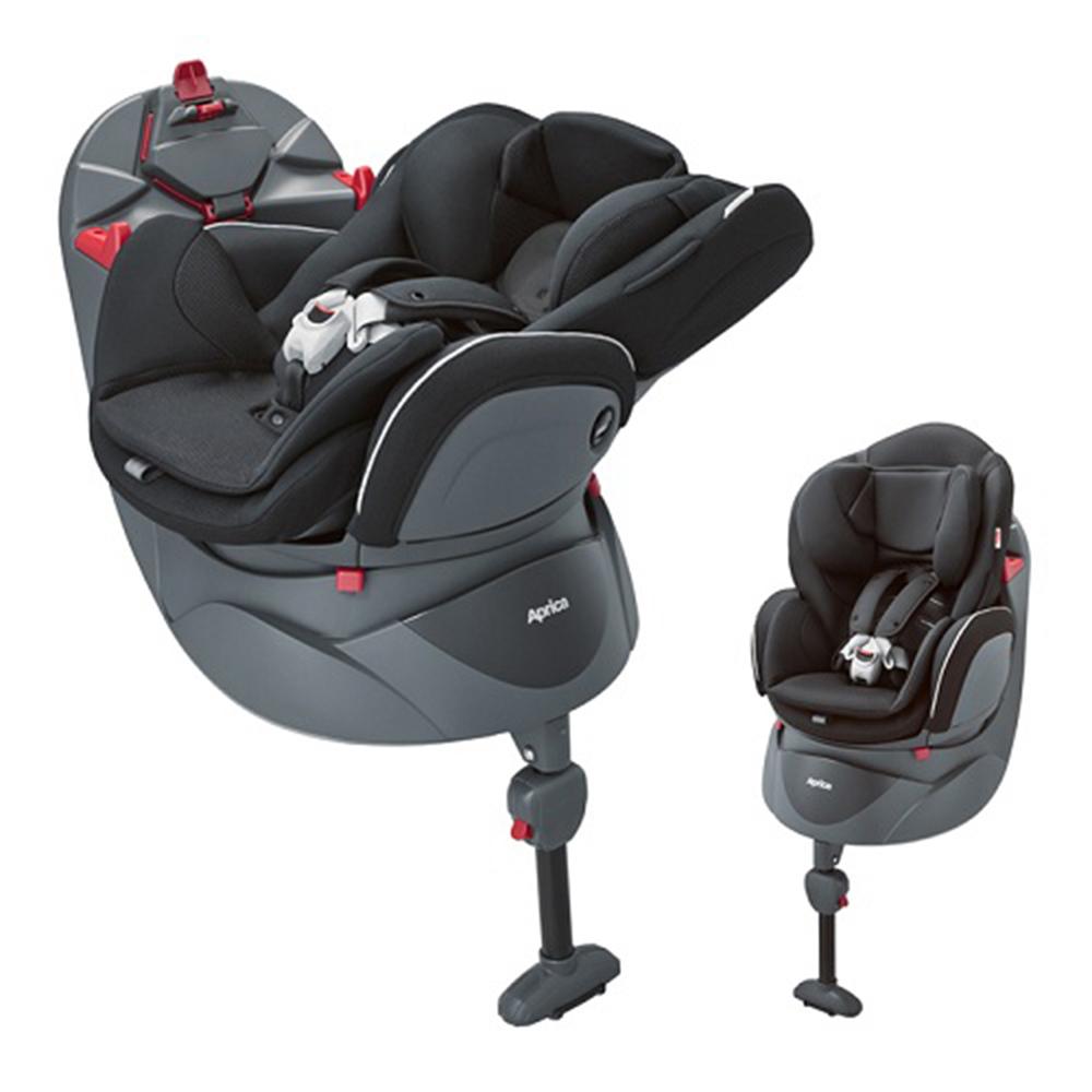 Aprica 平躺型嬰幼兒汽車安全臥床椅 Fladea DX 燕尾黑 BK