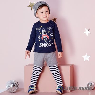 Little moni 假兩件長褲 (共3色)