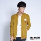 BIG TRAIN 達磨立領外套-黃