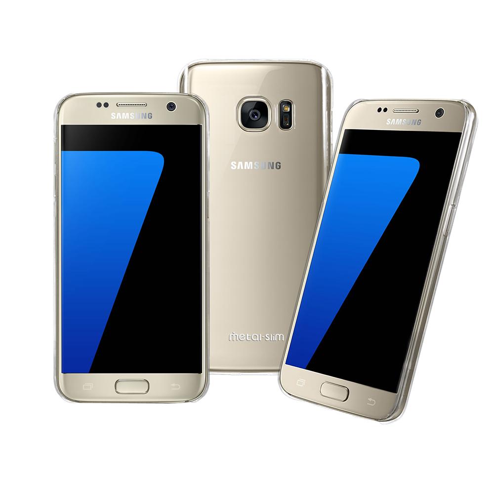 Metal-slim Samsung Galaxy S7 高抗刮PC透明新型保護殼