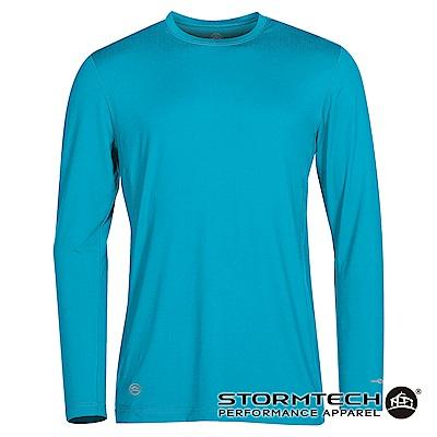 【加拿大STORMTECH】彈力舒適快乾抗UV機能衣SNT-2-男-電藍