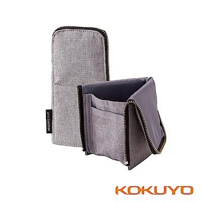 KOKUYO 大人系列 BIZ站立筆袋薄型-灰