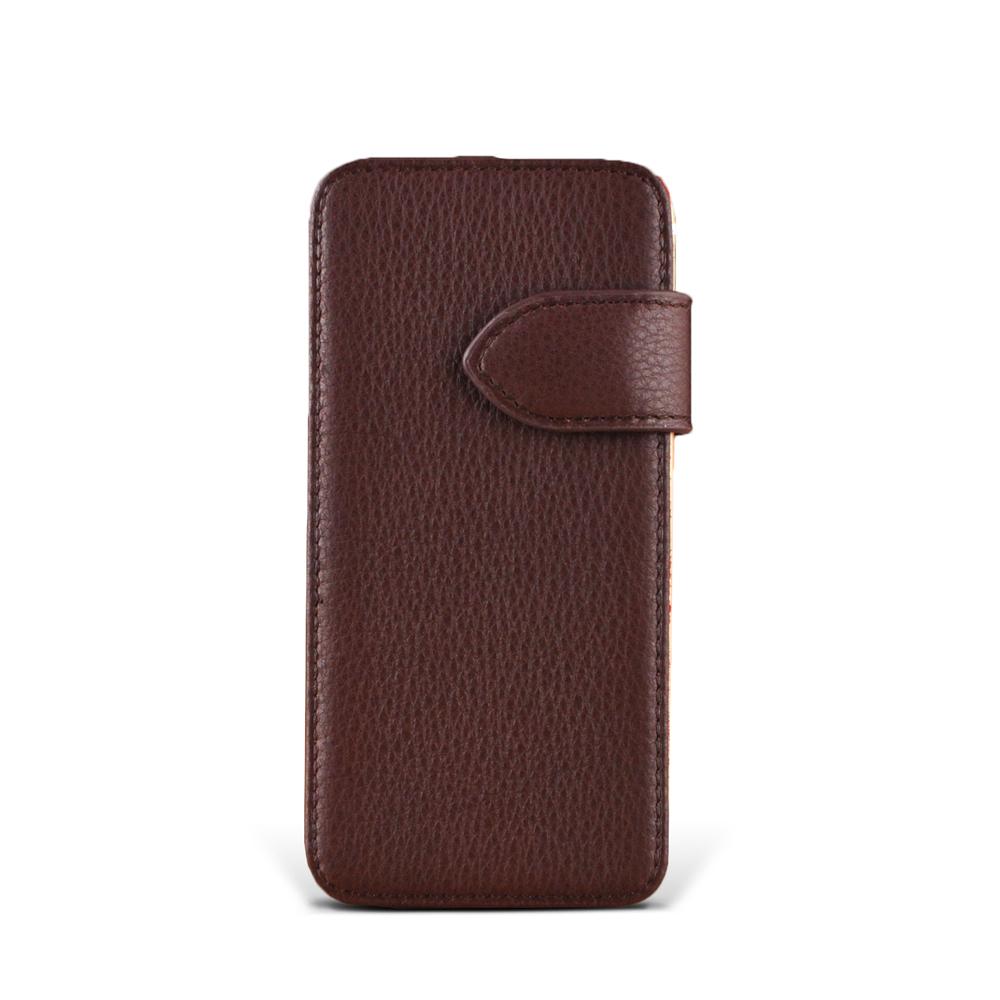 iphone i7 Plus / i8 Plus Style-E2 眼鏡盒式側開雙碰邊 客製皮套