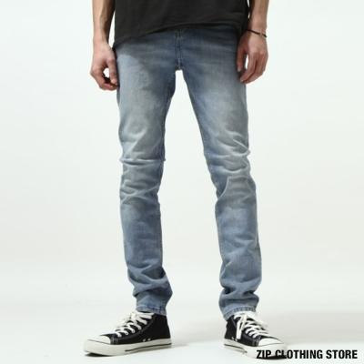 CHEAP MONDAY刷色牛仔褲 ZIP日本男裝
