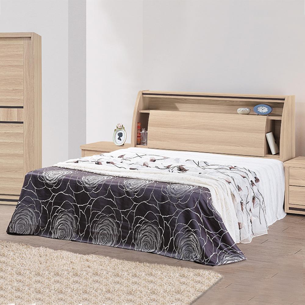 Boden-米朗羅5尺雙人床組(床頭箱+床底)