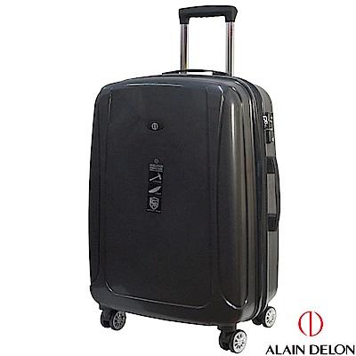 ALAIN DELON 亞蘭德倫 24吋旅者風情系列旅行箱(黑)