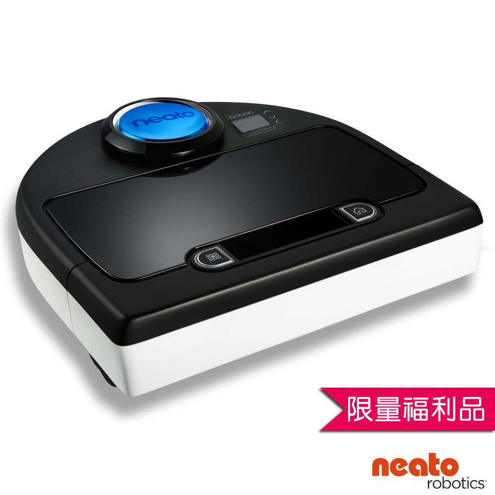 美國 Neato Botvac D85 寵物版雷射智慧型掃描機器人定時自動吸 限量福利品